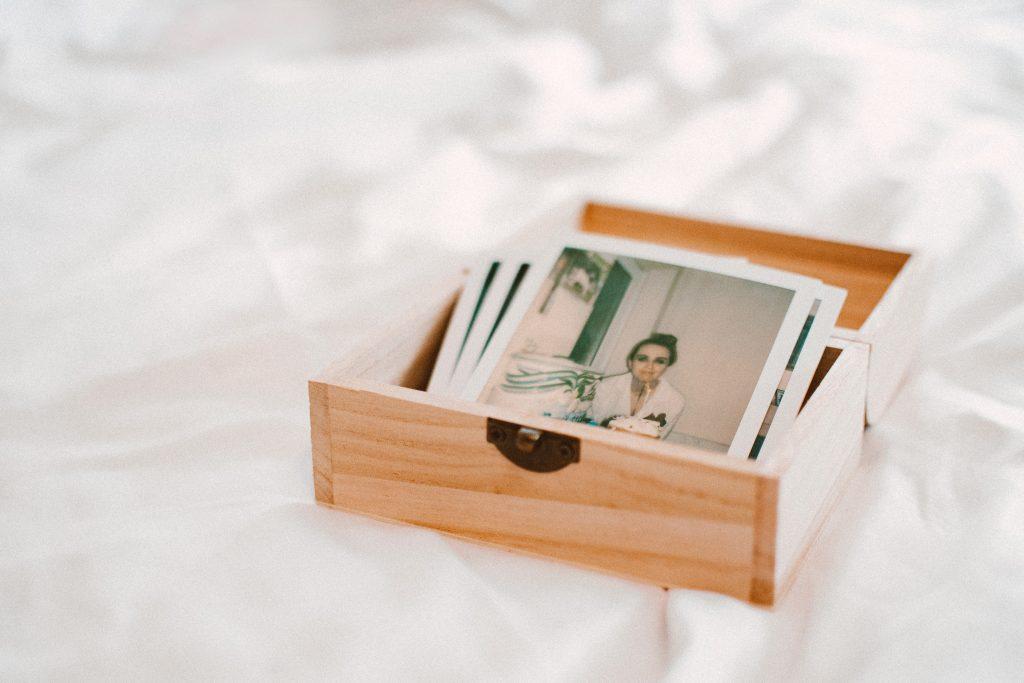 photos memories saved decluterring drawer keepsakes the linen duck